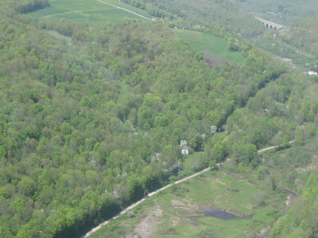 Dennis Farm aerial May 202, view from the south