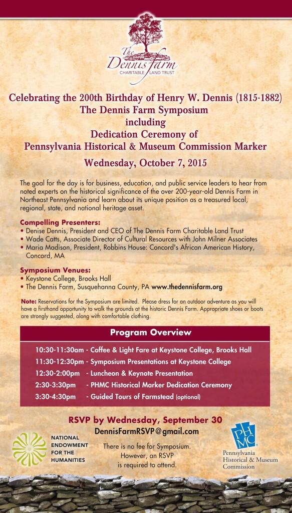 Symposium Invitation